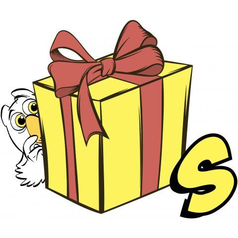 Uiltje cadeaubox S