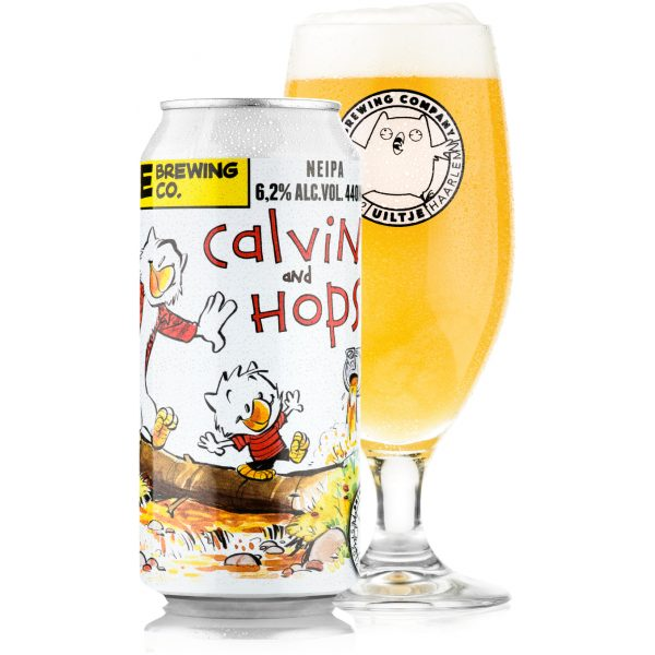 Uiltje- Calvin and Hops- Blik