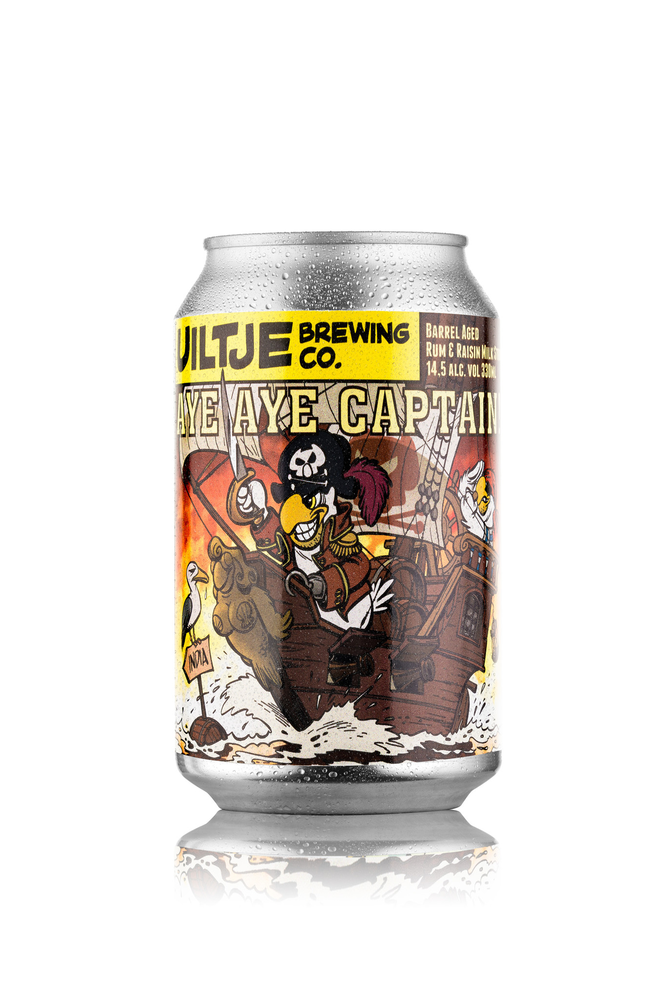 Uiltje- Aye Aye Captain- Blik