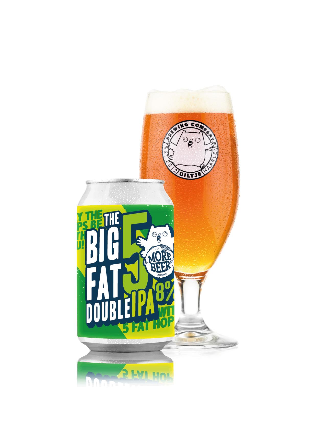 Uiltje- Big Fat 5- Blik