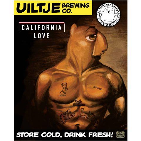 Uiltje- California Love- Poster