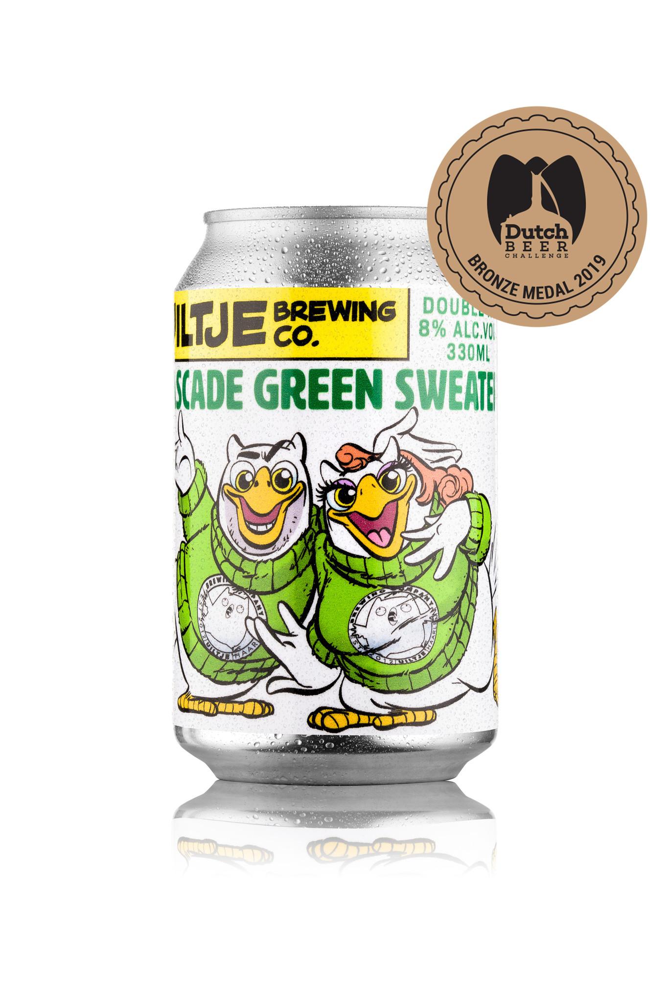 Uiltje- Cascade Green Sweater- Blik