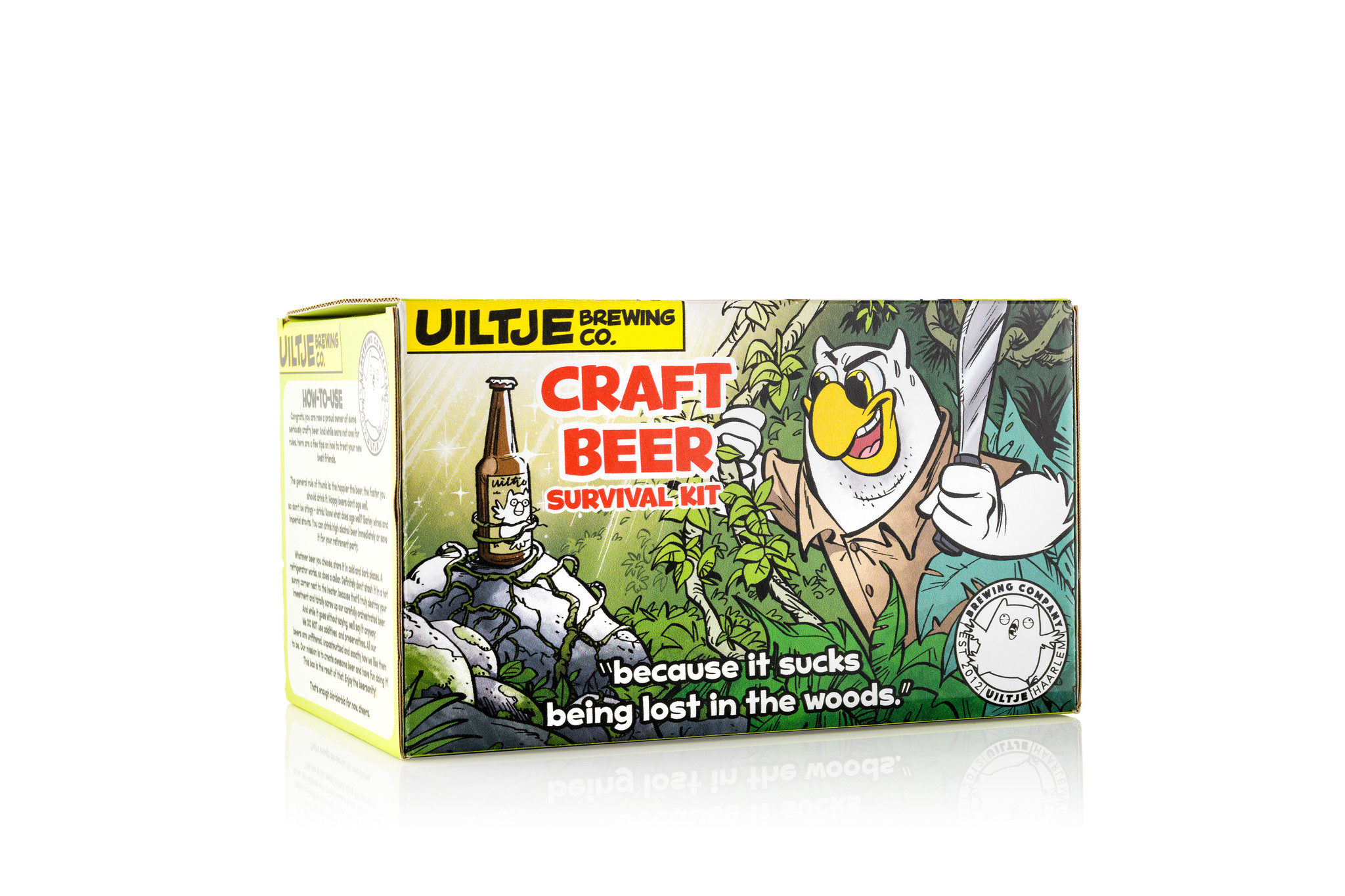 Uiltje- Craft Beer Survival Kit- Sixpack