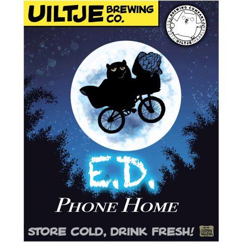 Uiltje- E.D. Phone Home- Poster