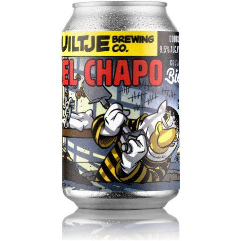 Uiltje- El Chapo- Blik