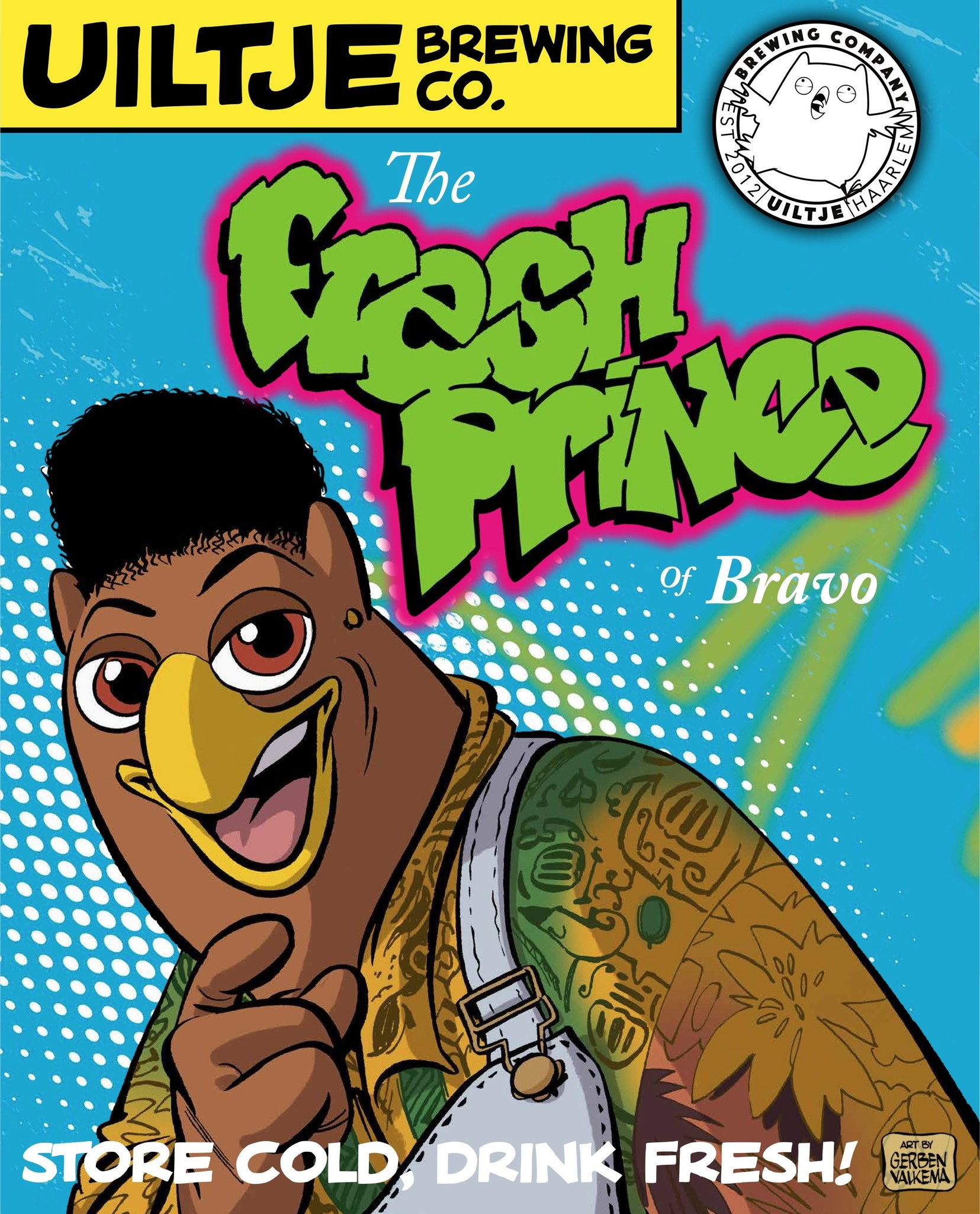 Uiltje- The Fresh Prince of Bravo- Poster
