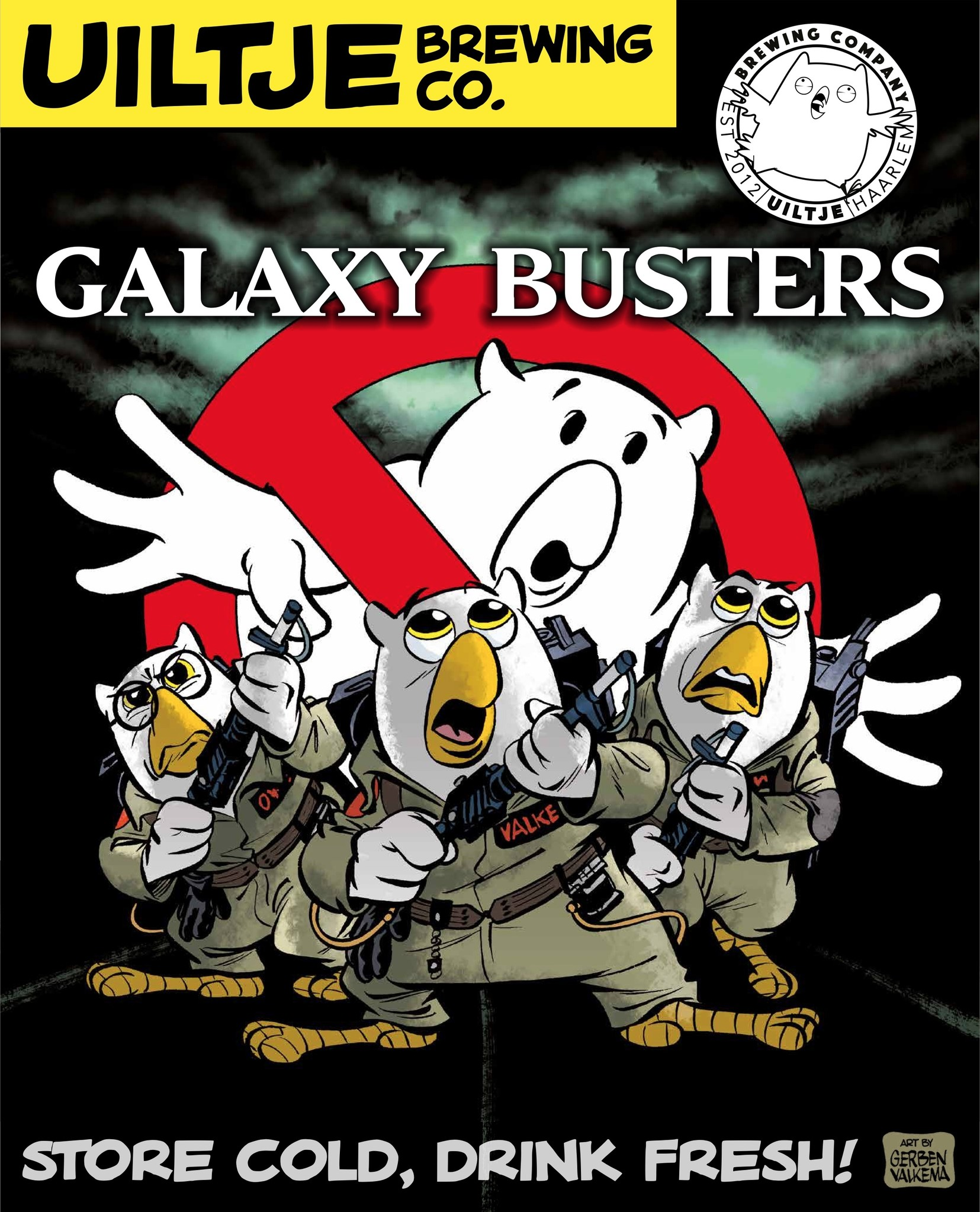 Uiltje- Galaxy Busters- Poster