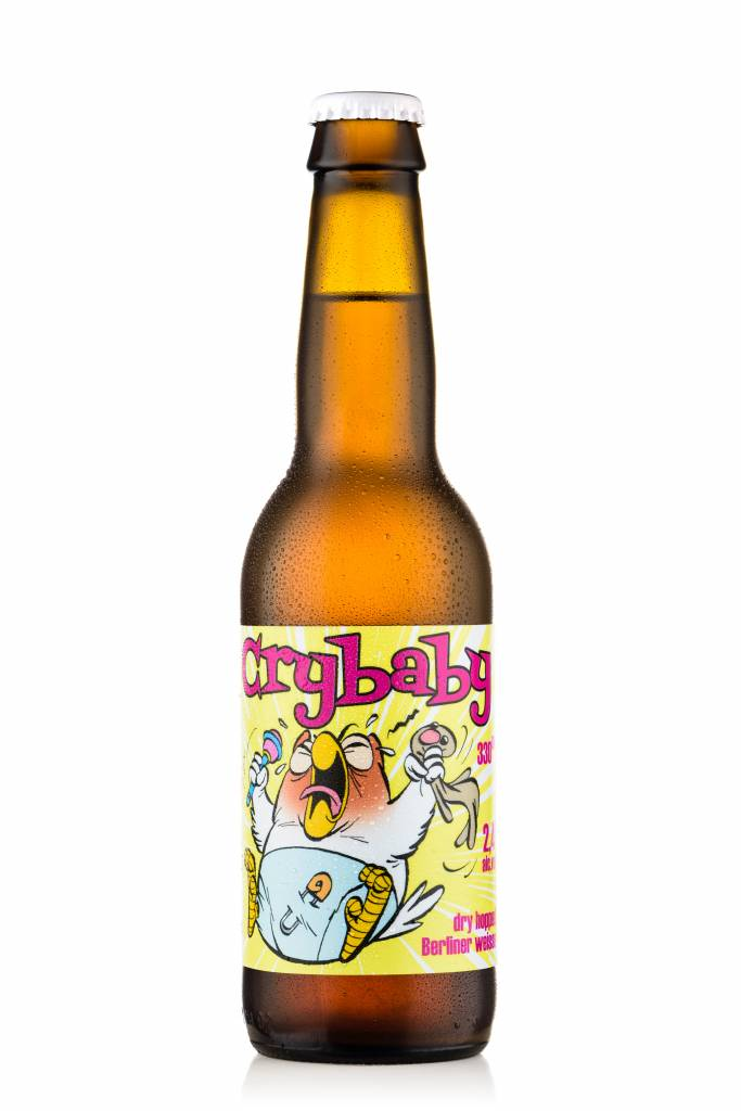Uiltje- Crybaby- Fles