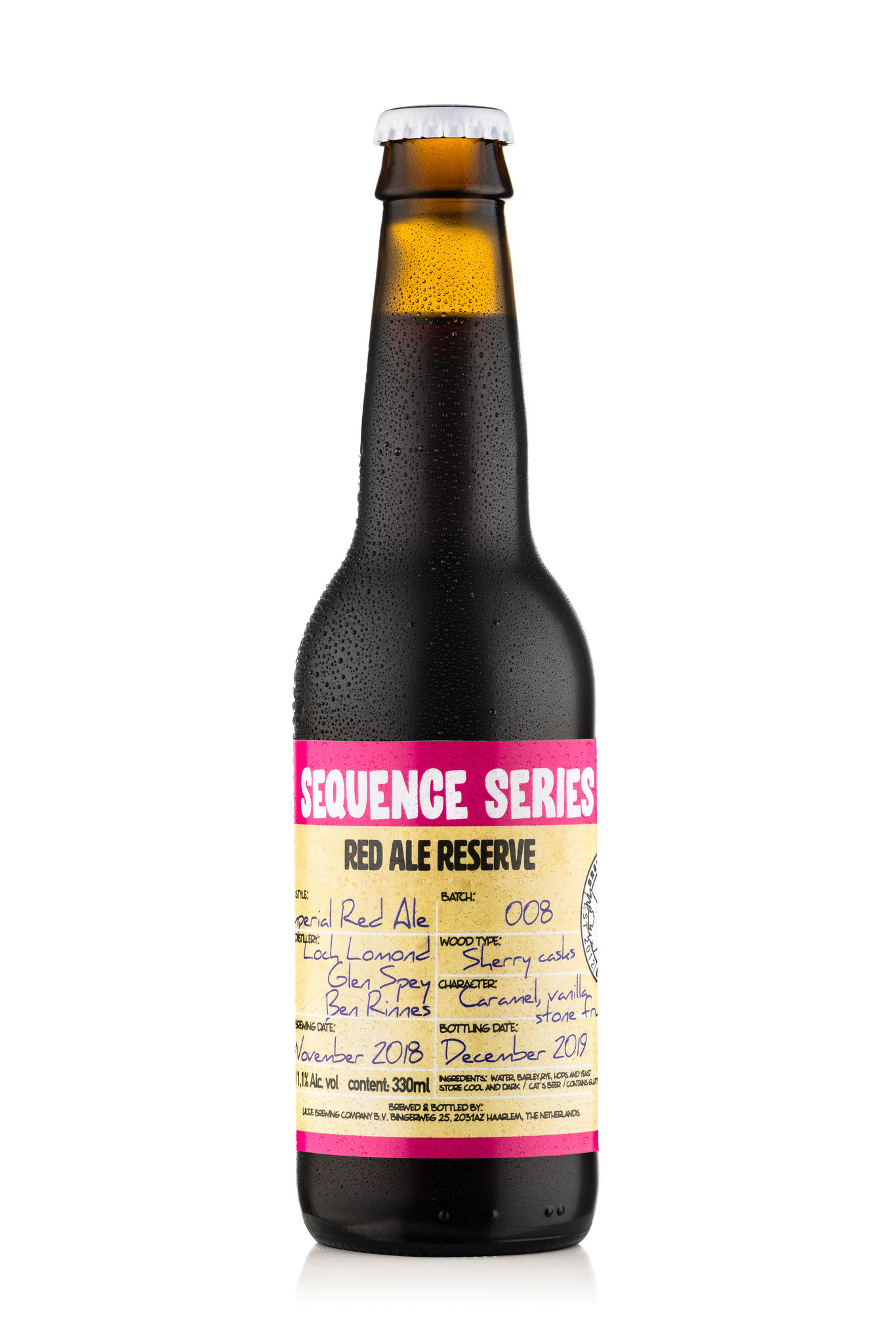 Uiltje- Sequence Series 8- Fles