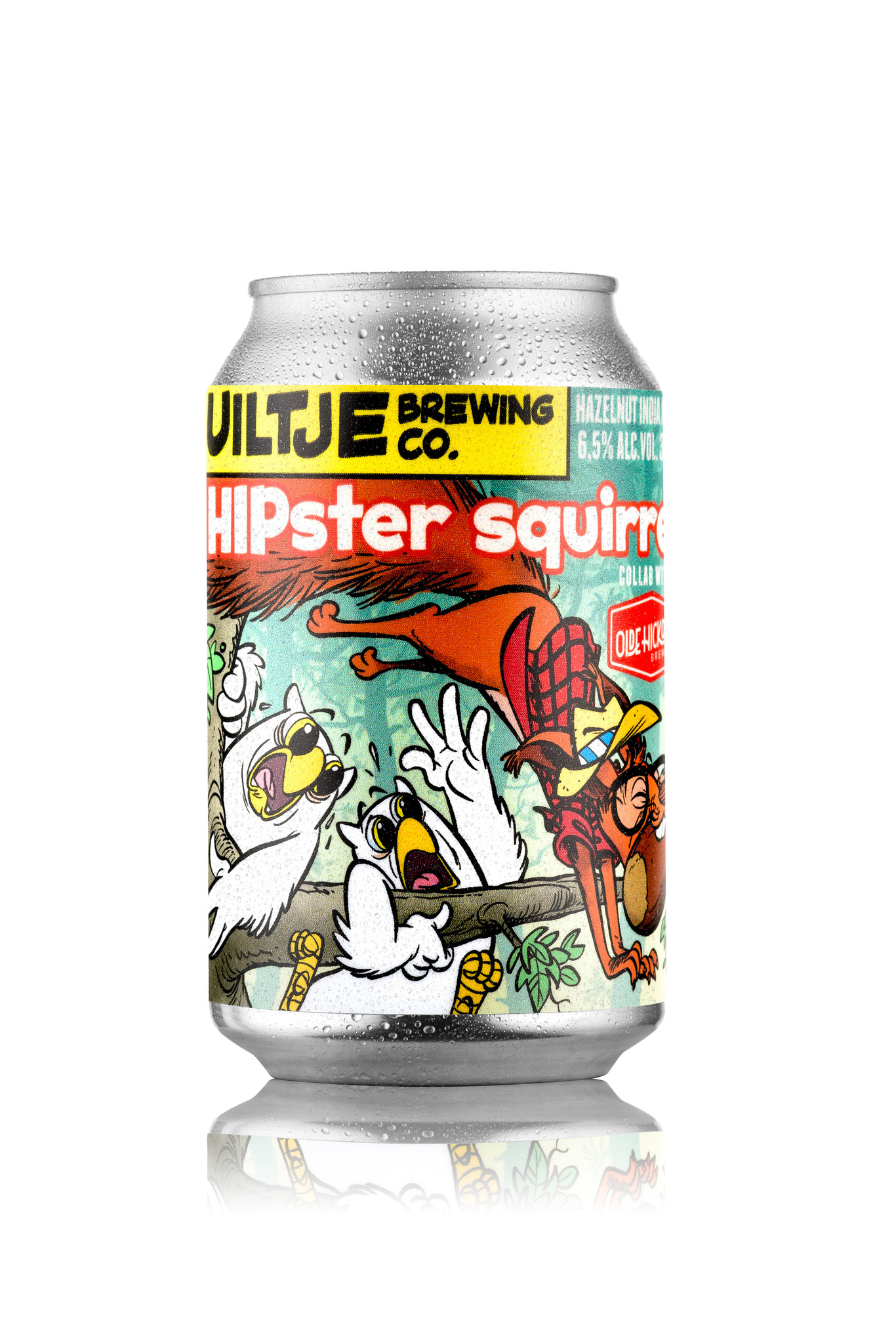 Uiltje- Hipster squirrel- Blik