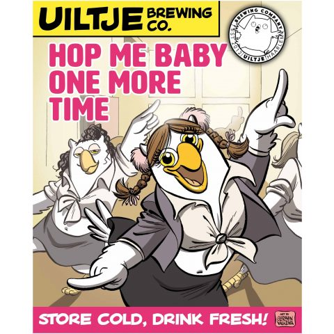 Uiltje- Hop Me Baby One More Time- Poster