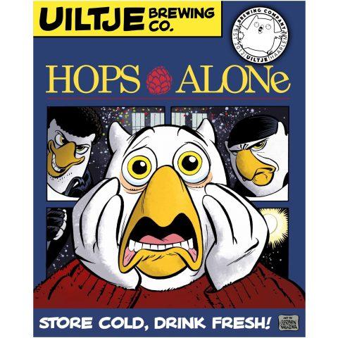 Uiltje- Hops Alone- Poster