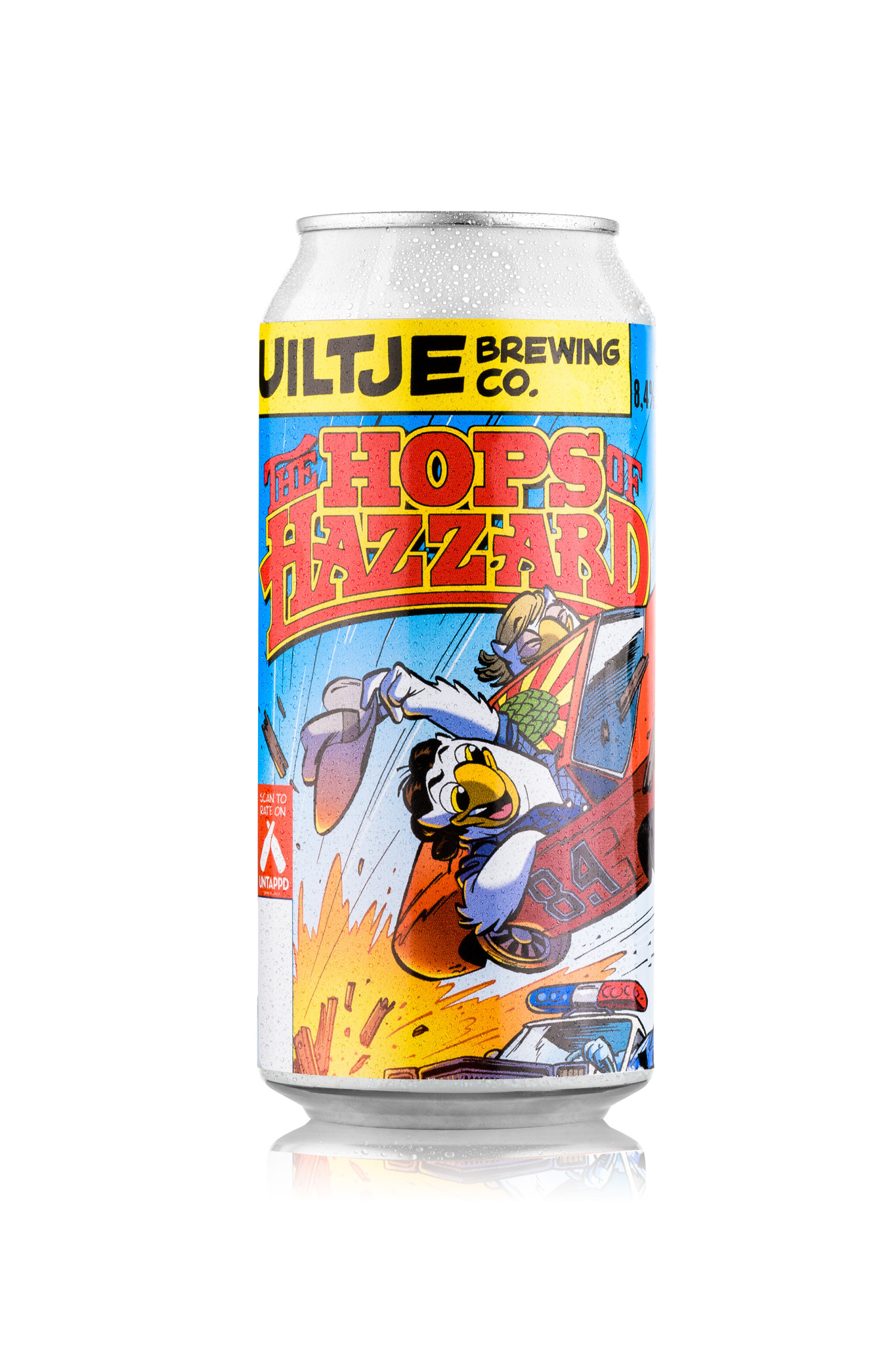 Uiltje- Hops of Hazzard- Blik