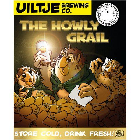Uiltje- Howly Grail- Poster