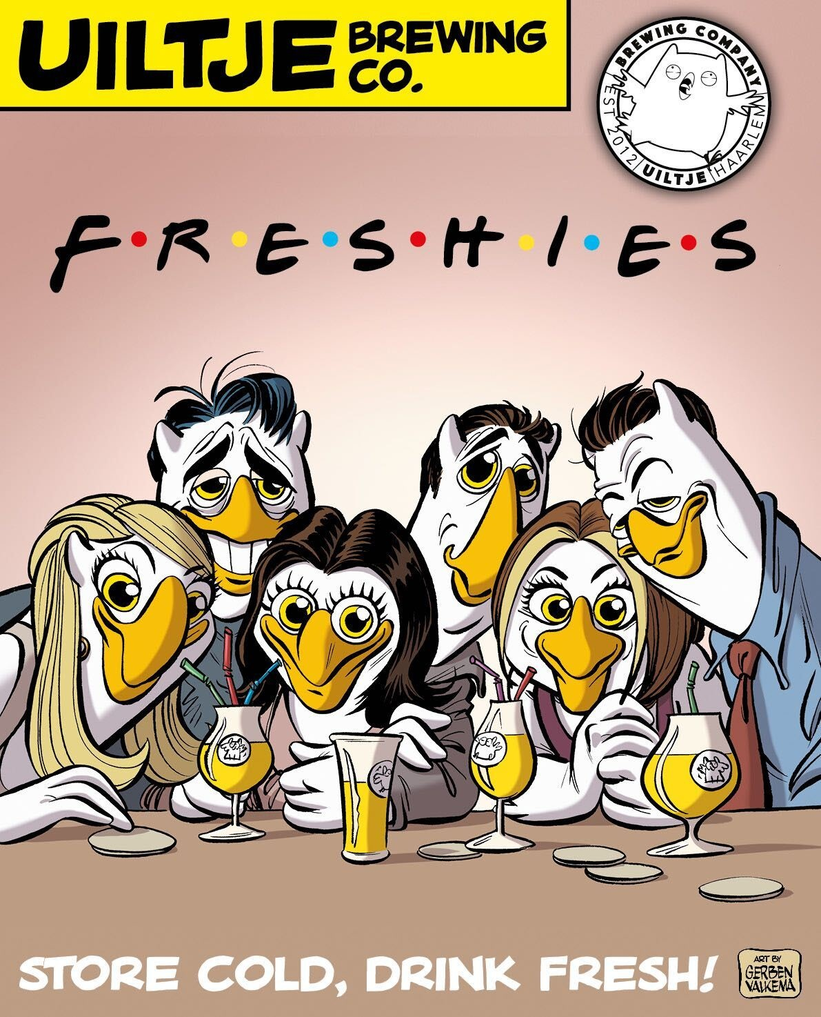 Uiltje- Freshies- Poster