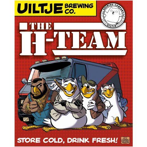 Uiltje- H-team- Poster