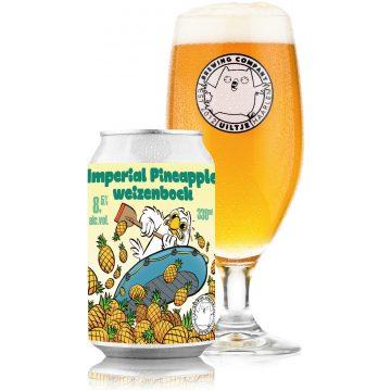 Uiltje- Imperial Pineapple Weizenbock- Blik
