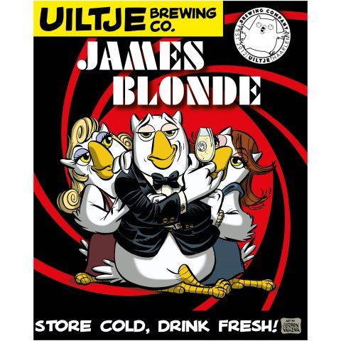 Uiltje- James Blonde- Poster
