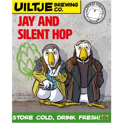 Uiltje- Jay And Silent Hop- Poster
