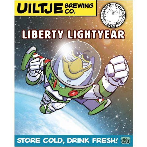 Uiltje- Liberty Lightyear- Poster