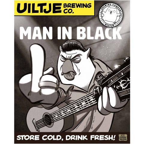 Uiltje- Man In Black- Poster