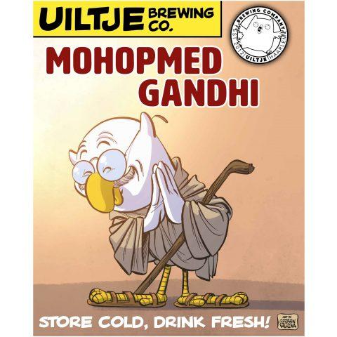 Uiltje- Mohopmed Gandhi-Poster