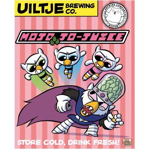 Uiltje Mojo Jo-Juice- Poster