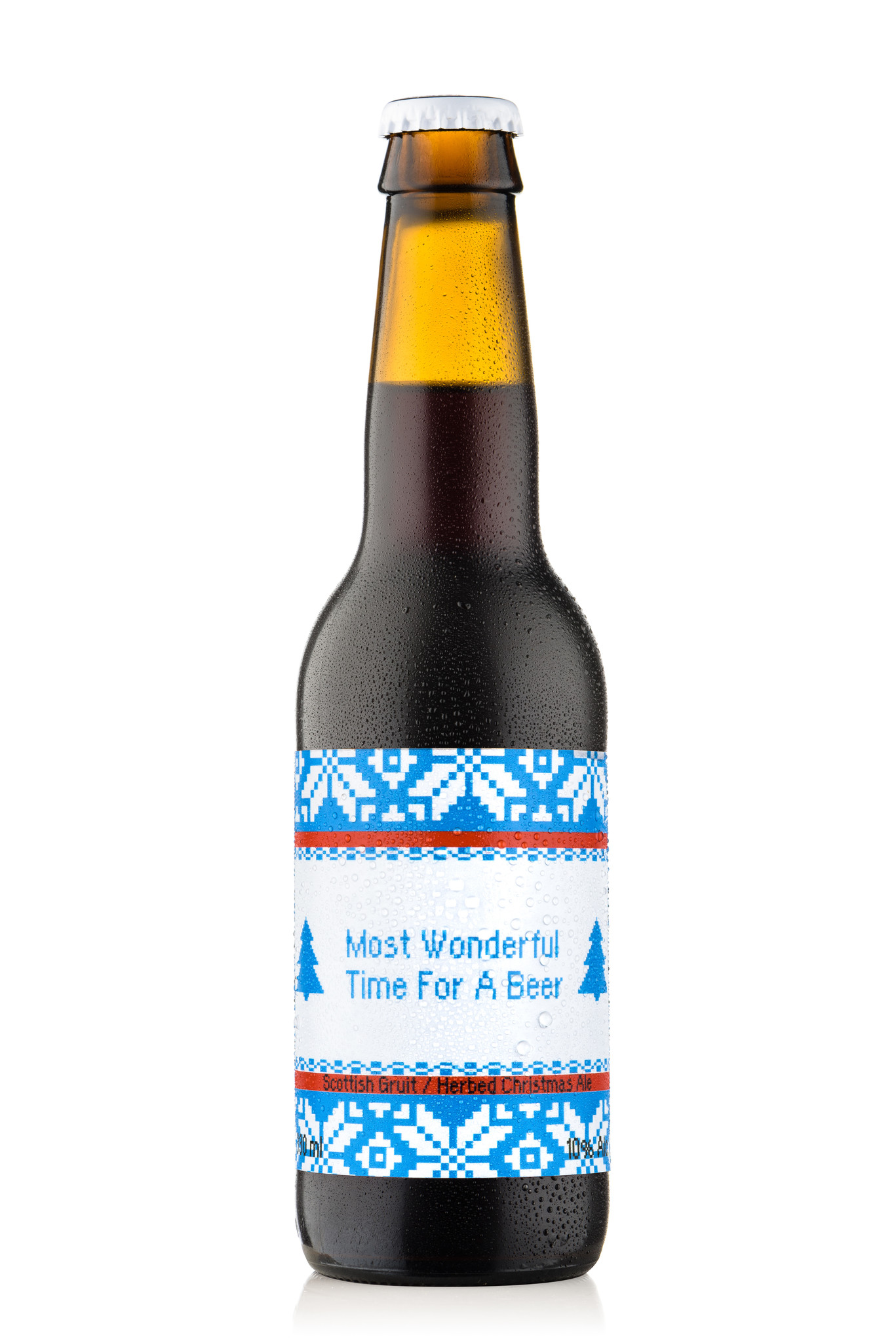 Uiltje- Most Wonderful Time For A Beer- Fles