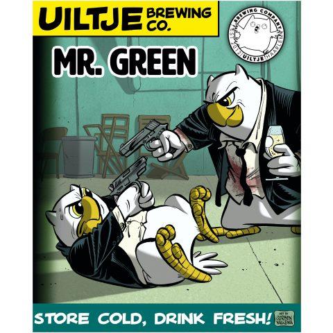 Uiltje- Mr. Green- Poster