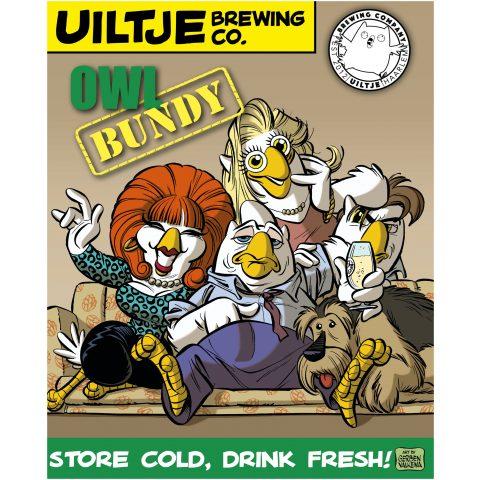 Uiltje- Owl Bundy- Poster