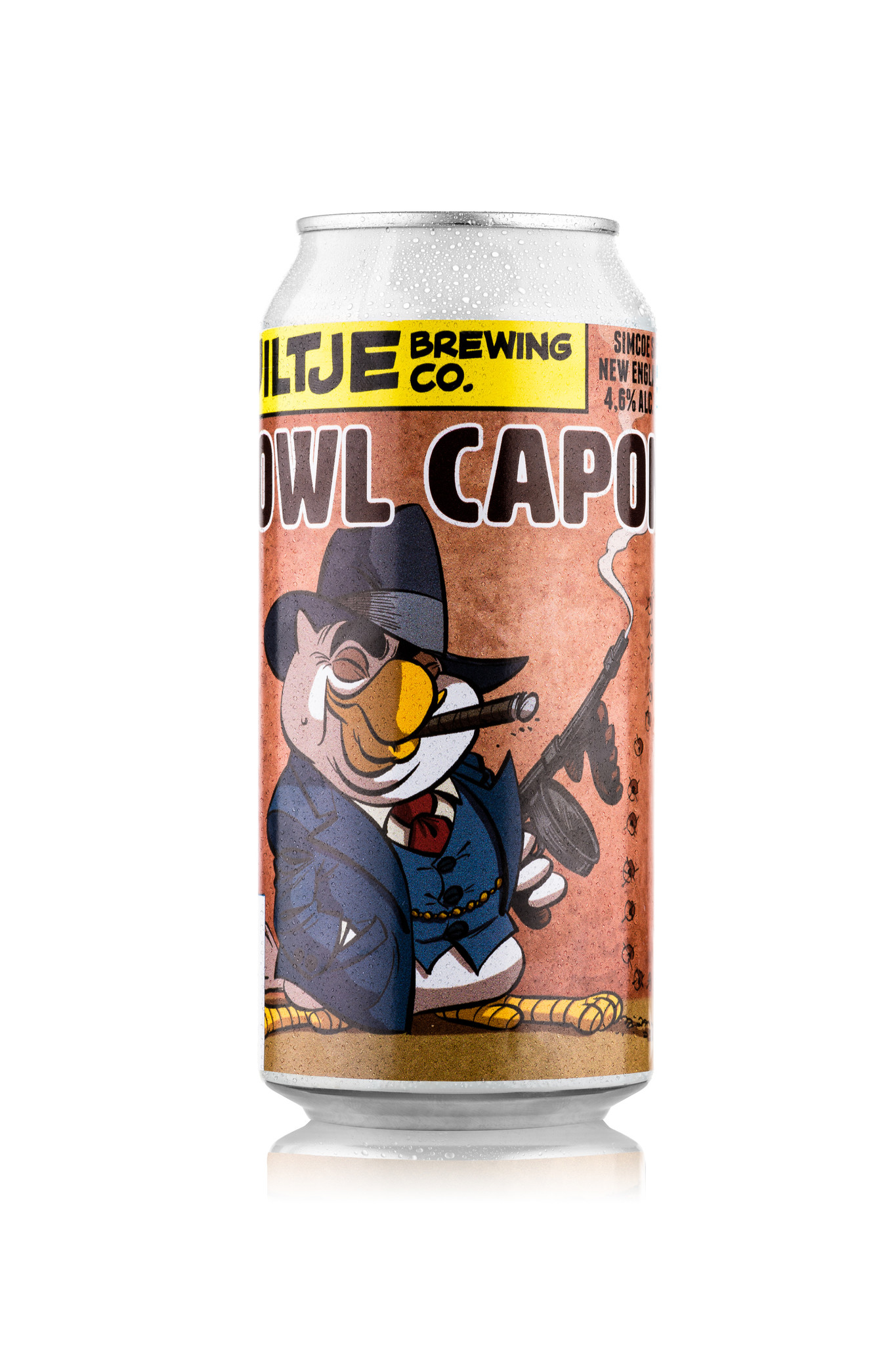 Uiltje- Owl Capone- Blik