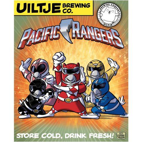 Uiltje- Pacific Rangers- Poster