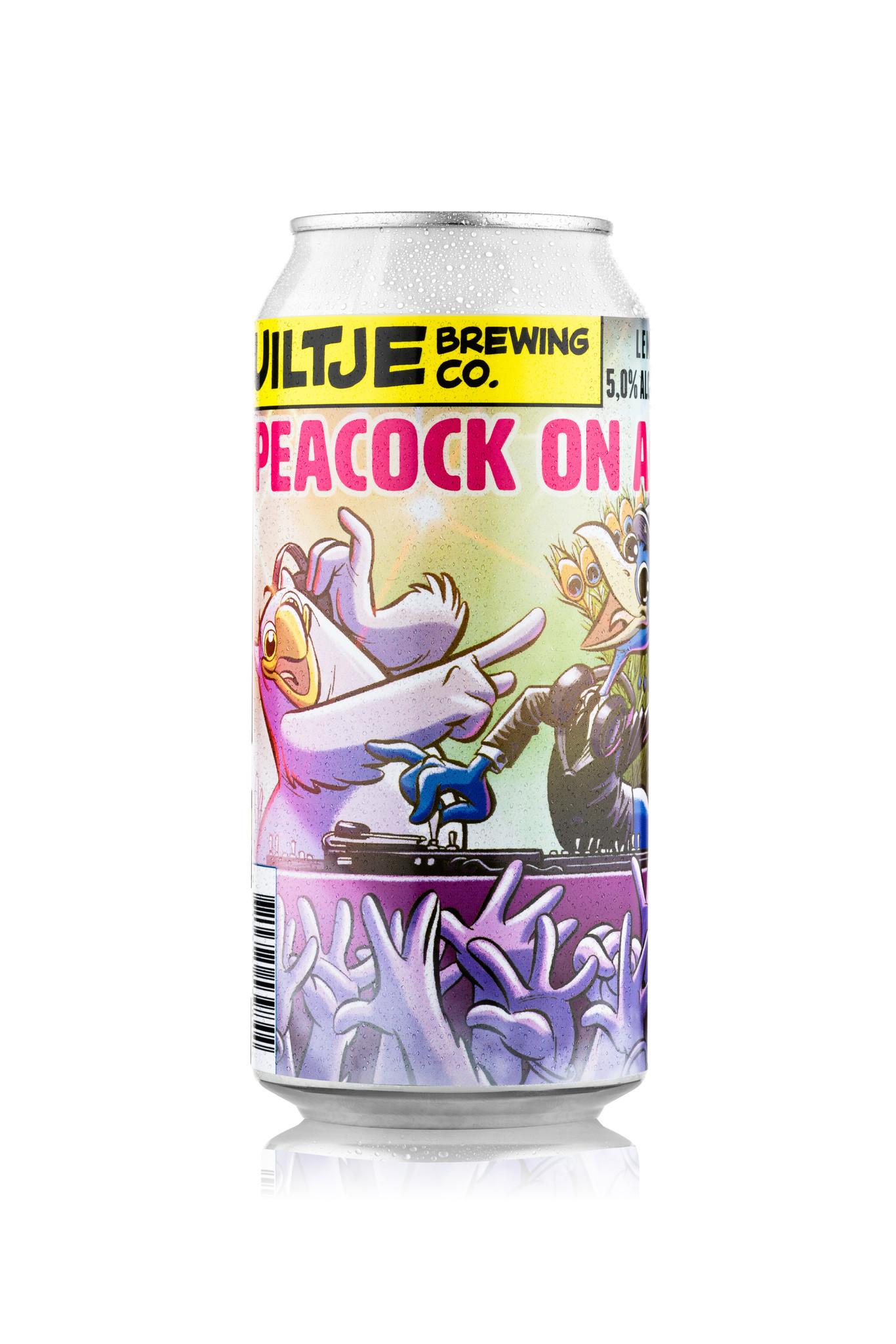 Uiltje- Peacock On Acid- Blik