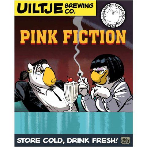 Uiltje- Pink Fiction- Poster