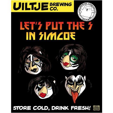 Uiltje- Let's Put The S In Simcoe- 3 Blikken
