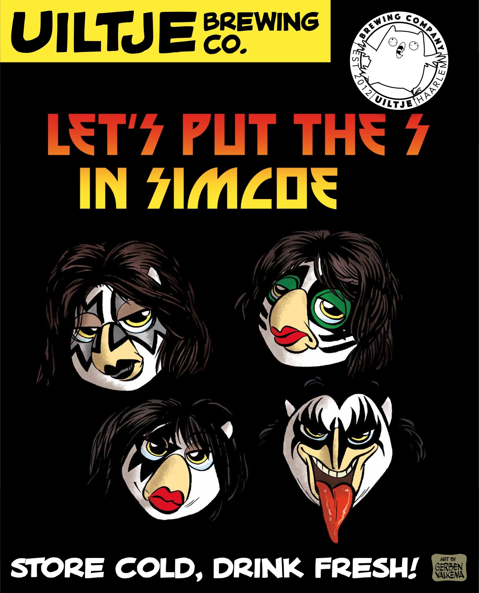 Uiltje- Let's Put The S In Simcoe- Poster