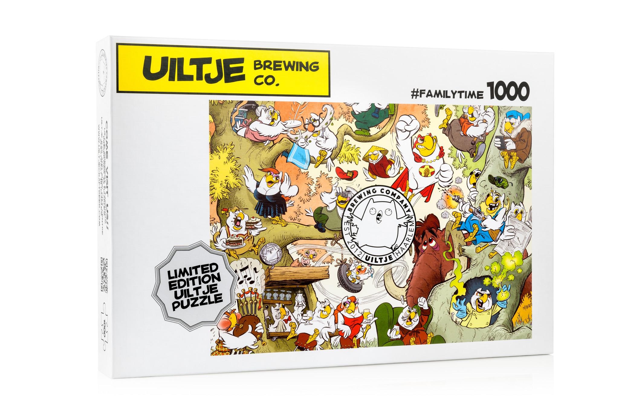 Uiltje- Limited Edition Puzzel
