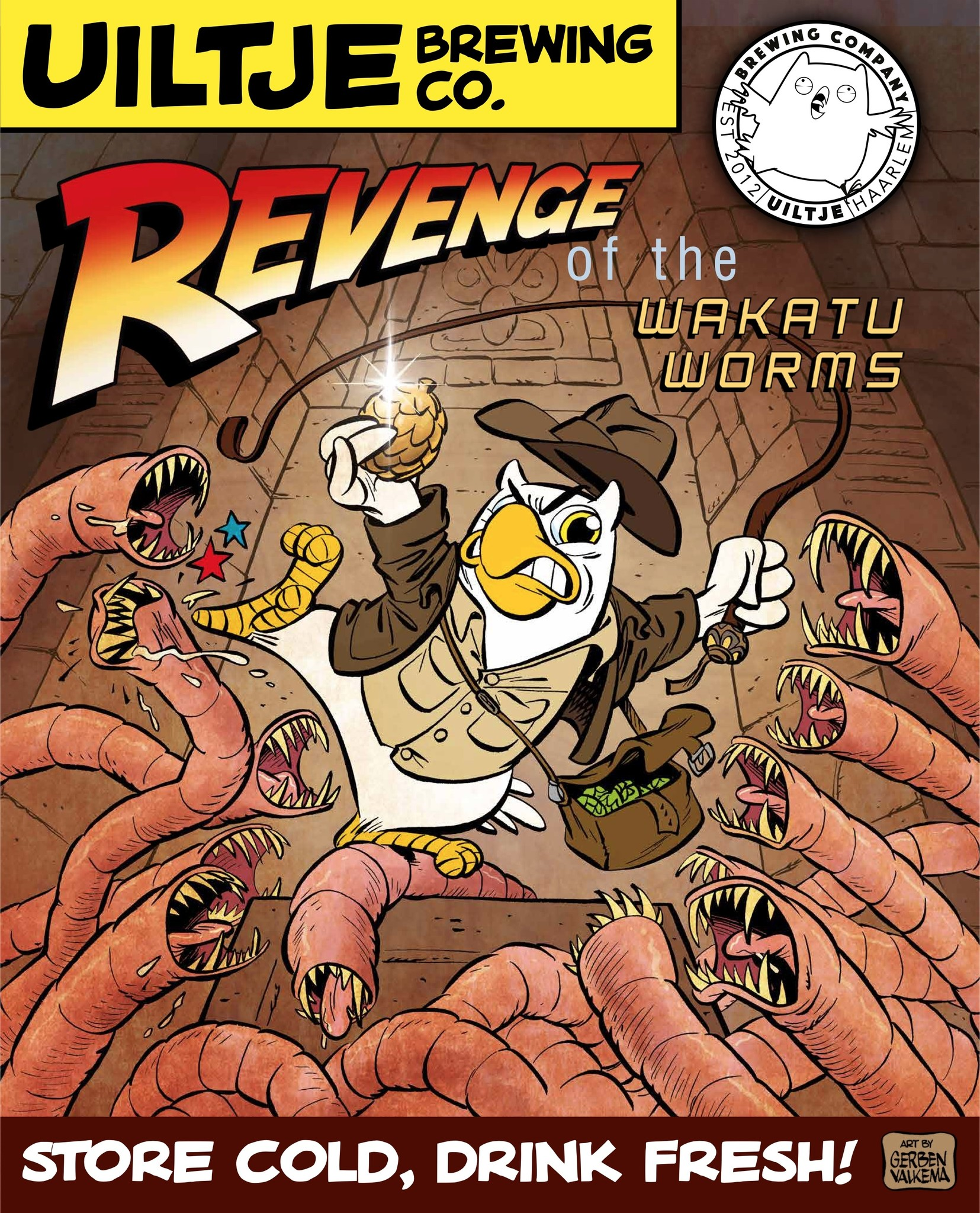 Uiltje- Revenge of the Wakatu Worms- Poster