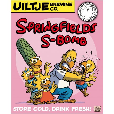 Uiltje- Springfield S-Bomb- Poster
