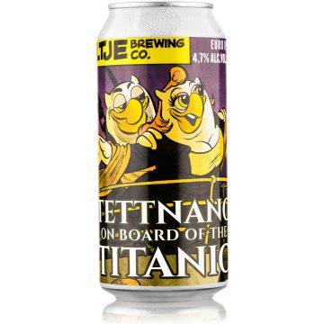 Uiltje- Tettnang on board of the Titanic- Blik