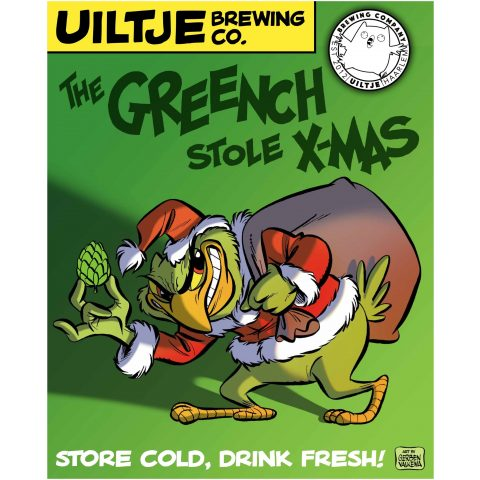 Uiltje- The Greench Stol X-mas- Poster