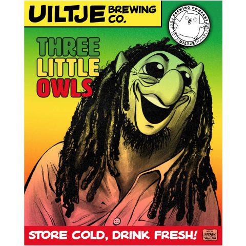 Uiltje- Three Litlle Owls- Poster