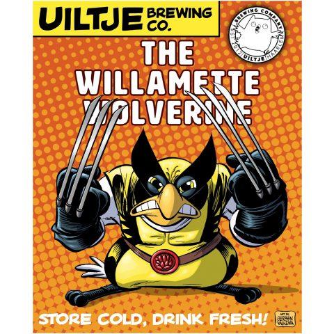 Uiltje- The Willamette Wolverine- Poster