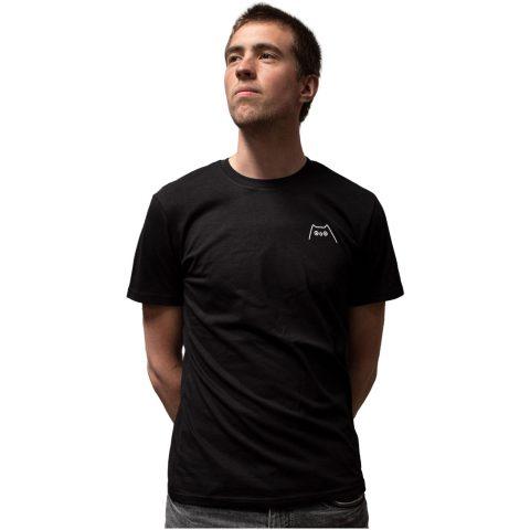Uiltje- Shirt Zwart