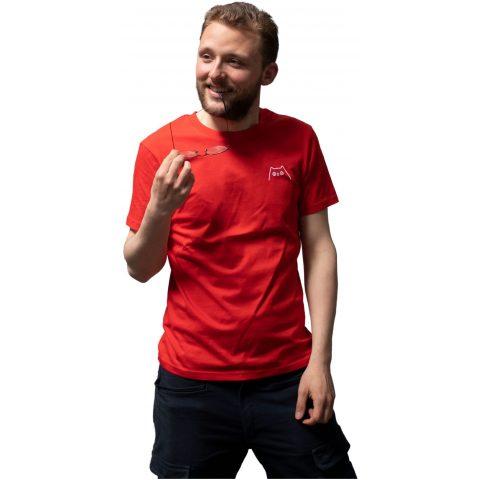 Uiltje- Shirt Rood