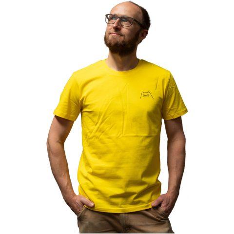 Uiltje- Shirt Geel