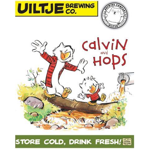 Uiltje- Calvin and Hops- Poster