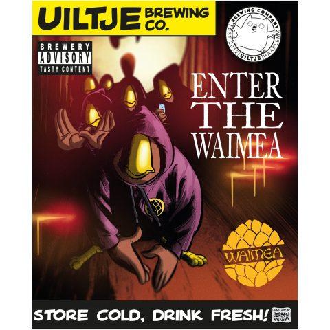 Uiltje- Enter The Waimea- poster