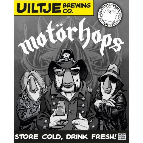 Uiltje- Motörhops- poster