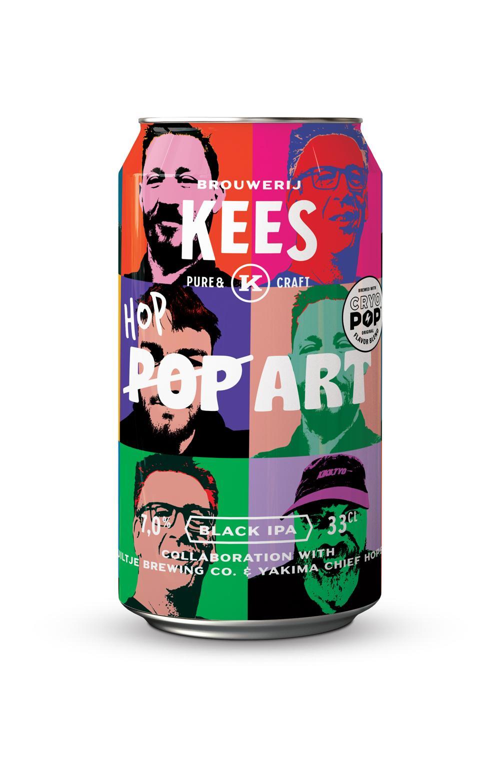 Hop Art – Brouwerij Kees & Yakima Chief Hops Collab